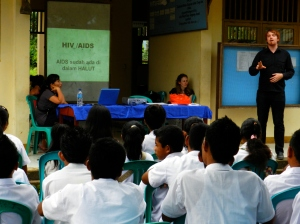 Speaking in Asia.